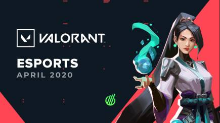 Valorant esports in April 2020