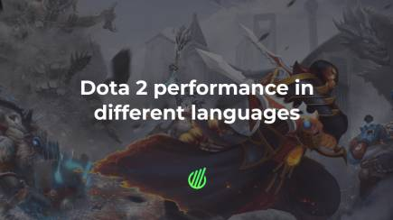 Dota 2 performance in different languages