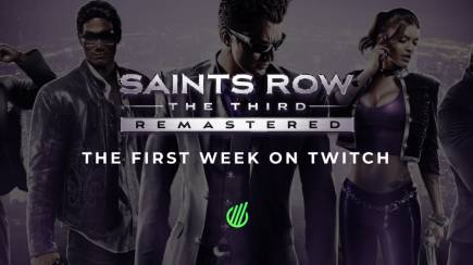 Saints Row: The Third Remastered Twitch results