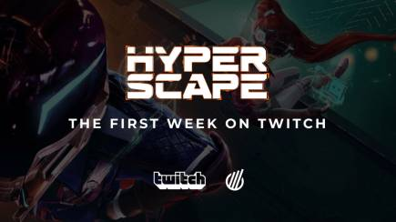 Hyper Scape: The first week on Twitch