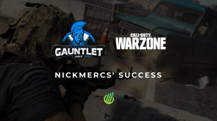 MFAM Gauntlet Warzone: Nickmercs' success
