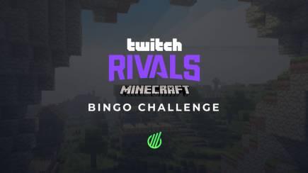 Twitch Rivals Minecraft Bingo Challenge