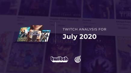 Twitch categories in July: Off-season's impact