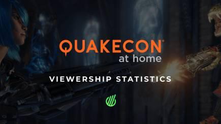 QuakeCon at Home: Viewership statistics