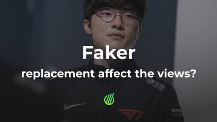 Did the replacement of Faker affect the views?