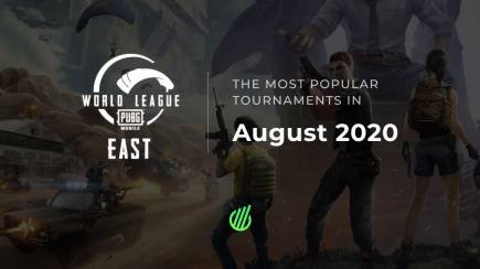 The most popular esports tournaments of August 2020