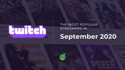The most popular streamers of September on Twitch