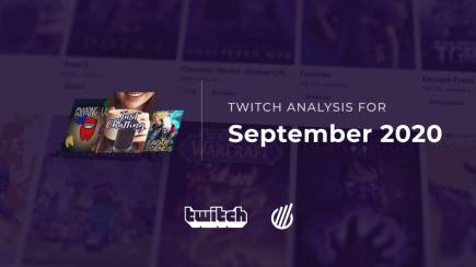 Twitch categories in September 2020