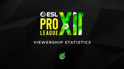 ESL Pro League Season 12: The record of the series