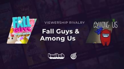 Among Us vs. Fall Guys: Viewership rivalry