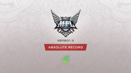 MPL ID Season 6: Absolute record