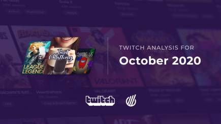 Twitch categories in October 2020