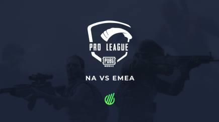 PUBG Mobile: EMEA VS. NA leagues