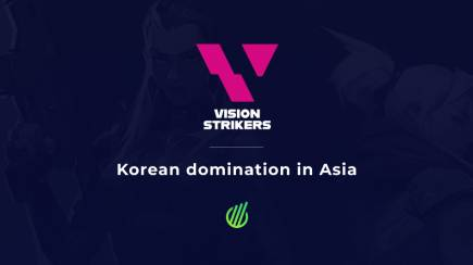 Vision Strikers: Asian streak with no defeat