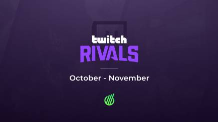 Twitch Rivals: Viewership results in October - November