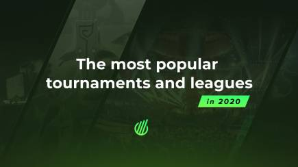 The most popular esports tournaments and leagues in 2020