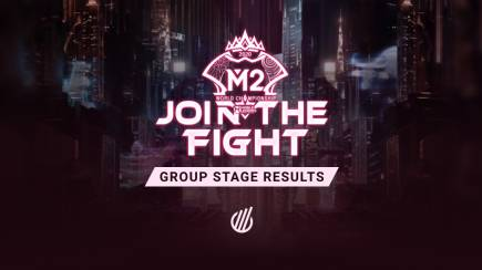M2 World Championship: Group stage results