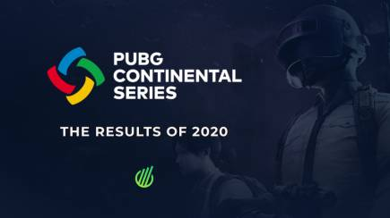 PUBG Continental Series: The results of 2020
