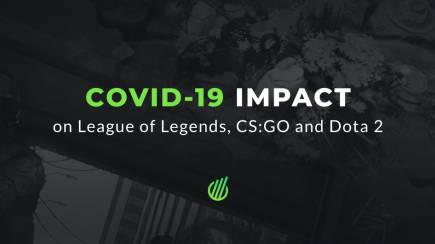 How COVID-19 affected esports in League of Legends, CS:GO and Dota 2