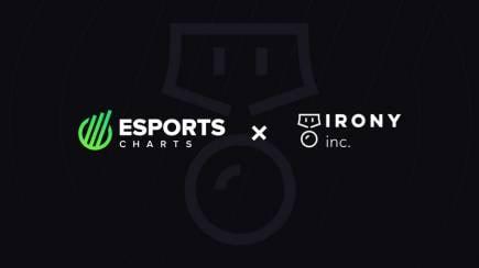 Esports Charts и Irony Inc. анонсируют партнёрство в Индии
