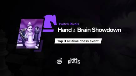 Twitch Rivals Hand & Brain Showdown — chess can impress with its unique format