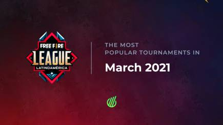 Most popular tournaments in March – nothing can match Free Fire