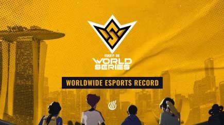 Free Fire World Series 2021 Singapore: 5,4M Peak Viewers and new worldwide record