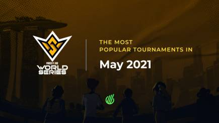 The most popular tournaments in May 2021: mobile disciplines domination and new records